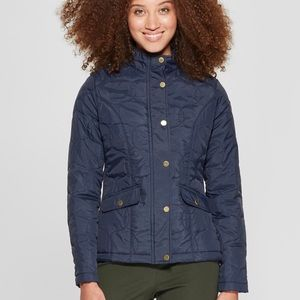 "Navy blue quilted ""A New Day"" Jacket"